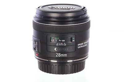 Canon 28mm f2.8 IS USM, virtually mint