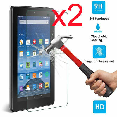 """Tablet Tempered Glass Screen Protector Cover For Azpen 7/"""" A720 A721"""