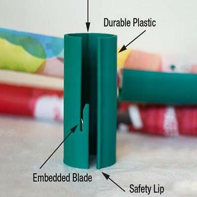 Little ELF Cutting Sliding Wrapping Paper Gift Roll Cutter Made Easy and Fun Hot
