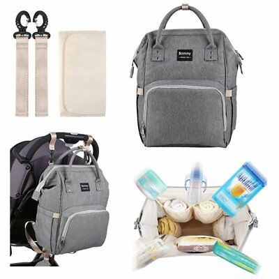 Large Mummy Baby Diaper Nappy Backpack Mom Changing Travel Multifunctional Bag