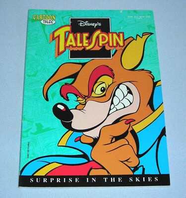 Disney's TaleSpin Surprise in the Skies Cartoon Tales Comic Book 1991