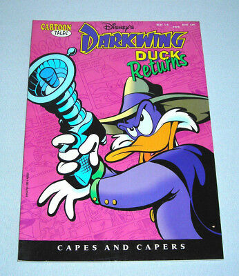 Disney's Darkwing Duck Returns Capes and Capers Cartoon Tales Comic Book 1992