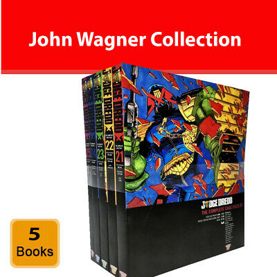 Judge Dredd Complete Case Files Volume 21-25 Books Set John Wagner NEW Paperback