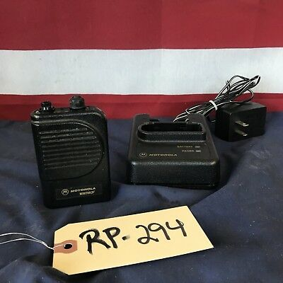 Motorola Minitor III (3) VHF 151-159 MHz 2 Channel SV Fire Pager w/charger