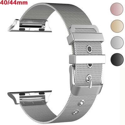 For Apple Watch Series 1/2/3/4 38/40/42/44mm Stainless Steel Strap iWatch Band