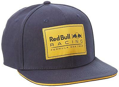 Puma Red Bull F1 2016 Flat Cap Hat Official Formula One Racing Team RRP £65 NEW