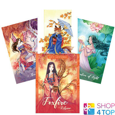 Foxfire: The Kitsune Oracle Cards Deck Lucy Cavendish  Us Games Systems New
