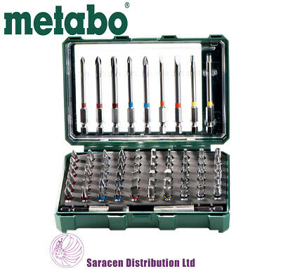 Metabo 71 Piece Screwdriver Bit Set, Colour Coded, 626704000