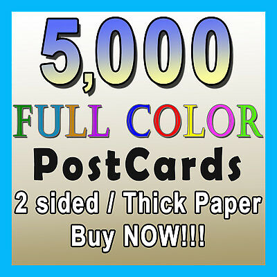 50 EBAY PRE Printed 4 x 6 Postcards, Great Easy way to say