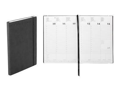 Nava Agenda 2019 Work 7 Medium Flexy 18 mesi 15x21Cm Black
