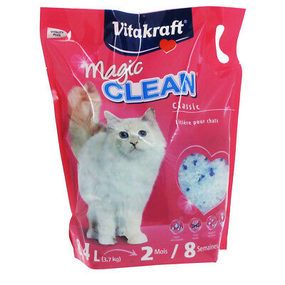 Litière Magic Clean Classic pour Chats - Vitakraft - 8,4L