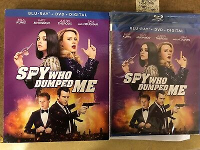The Spy Who Dumped Me (Blu-ray/DVD, 2018, 2-Disc Set) BRAND NEW