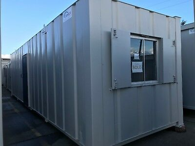 Portable Cabin, Site Office, Portable Building, Steel Cabin, 32 x 9 (1528)