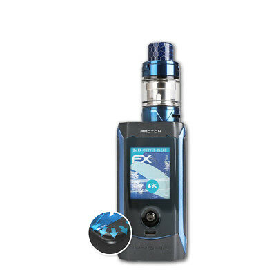 atFoliX 2x Protective Film for Innokin Proton Plex FX-Curved-Clear