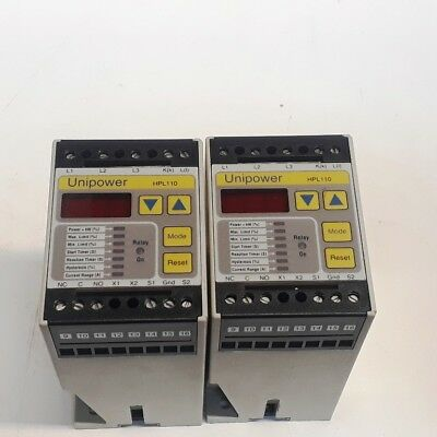 **2 Pcs** , Unipower-HPL110-version-4-over-under-Motor-motioning-relay