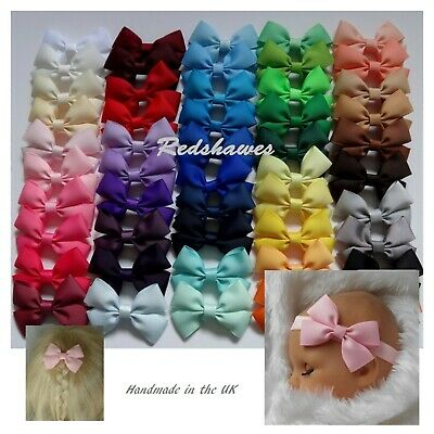 Bow Hair Clip / Bobble - 3 inch school christmas dance Free 1st class postage