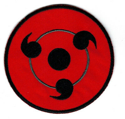 Parche Naruto 9 Cms Sharingan   Patch