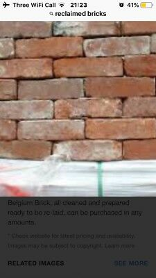 Old Reclaimed Red ClayBricks