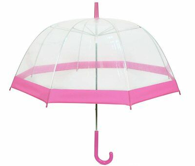 See-Thru-Bubble Wind Resistant Premium Clear Umbrella
