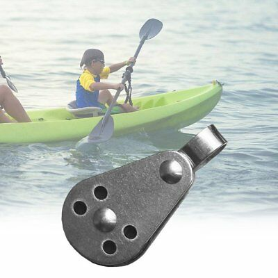 Durable Stainless Steel Outdoor Water Sports Marine Sheave Single Block Pulley H