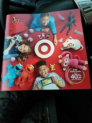 2018 Target Store Toy Catalog - Holiday Christmas Wish List Toys New
