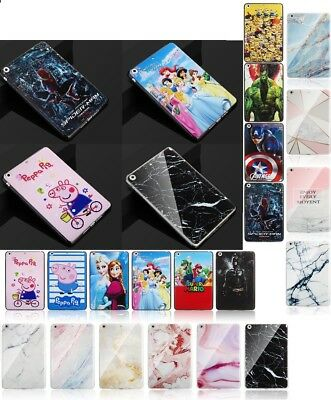 "Smart Marble Super Hero TPU Gel Case Cover For Samsung Galaxy Tab A6 10.1"" T580"