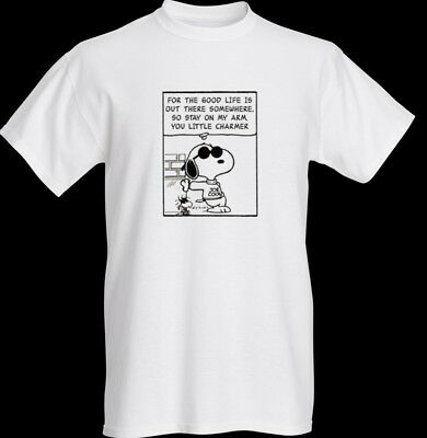 The Smiths Hand In Glove Lyrics T-Shirt All Sizes Morrissey Marr Snoopy Retro