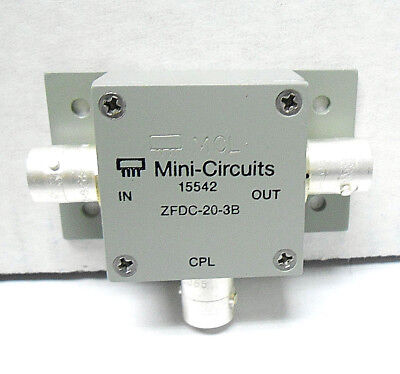 Zfdc-20-3B Mini Circuits Directional Coupler Smb/ Snc New Old Stock