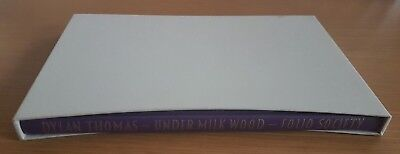 Folio Edition Under Milk Wood : A Play For Voices By Dylan Thomas Hardback
