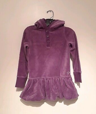 Gap Kids Girls Purple Velour Hoodie Sz 10 - 12