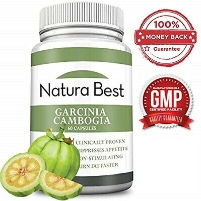 Naturabest | Garcinia Cambogia 100% Pure Extract with HCA - Appetite Suppressant