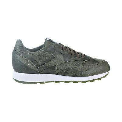45be1162d182 REEBOK CLASSIC LEATHER Cte (ARMY GREEN WHITE) Men s Shoes BS5258 ...