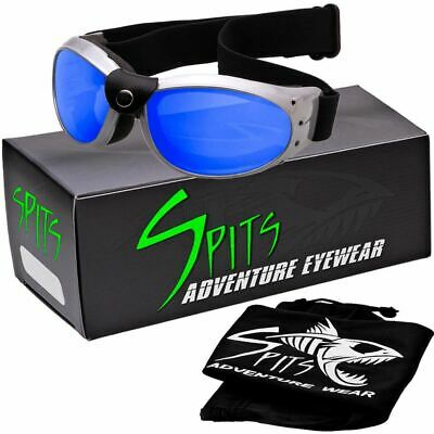 Eliminator Gray Frame - Foam Padded Motorcycle Goggles Various Lens Options