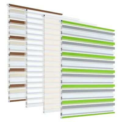 Window roller blinds rebra blinds day and night zebra vision striped multi sizes