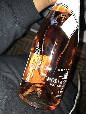 "Moet & Chandon x Off-White ""Do Not Drop"" Virgil Abloh Limited Edition Champagne"