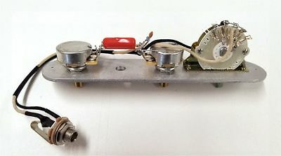 Telecaster Premium 4 Way Wiring Harness CTS - Custom 275k Pots +Treble Bleed Mod