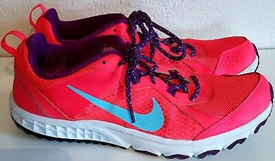 sale retailer e6296 63868 NIKE Women s Pink 643074-600 Wild Trail Athletic Running Shoes Size 9.5