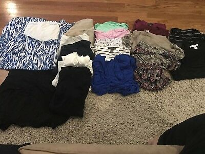 Maternity Clothes Lot- Size Small And Medium
