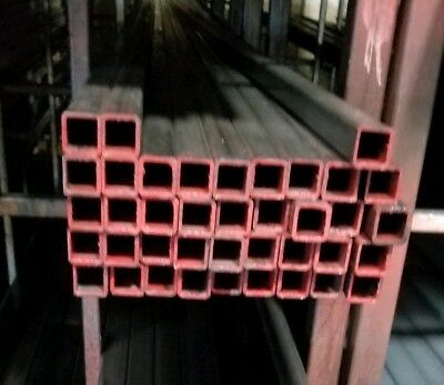 1 x 1 x 1/8 STEEL SQUARE TUBE 1PC 12 INCHES LONG .120 wall