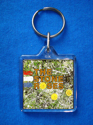 The Stone Roses - Stone Roses Keyring Ian Brown Oasis John Squire Manchester