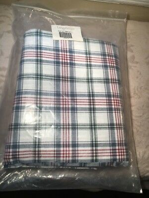 Longaberger Market Day Plaid Fabric, 5 yds uncut, 1st Quality, in original packa