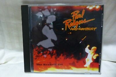 PAUL RODGERS AND COMPANY W/Neil Schon ~ The Hendrix Set CD 1993 Victory Records