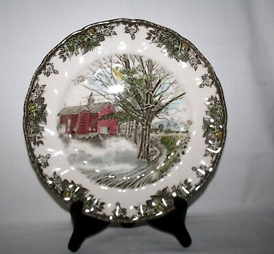 "Johnson Brothers Friendly Village Autumn Mists 10 1/2"" Dinner Plate"