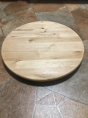 Ikea Lazy Susan 900 744 83 Solid Wood Turntable Kitchen Rotating Serving Tray