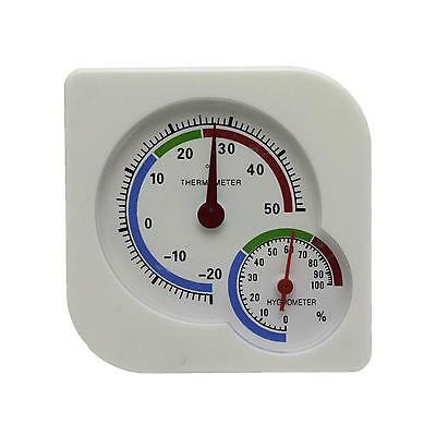Indoor Nursery Thermometer Hygrometer Temperature Temp Wet Humidity Meter Gauge