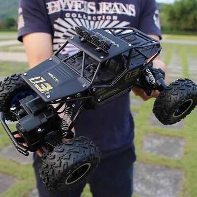 1:18 4WD RC Cars Speed 2.4G Radio Control Alloy Off-Road Trucks Toys Cool Gift