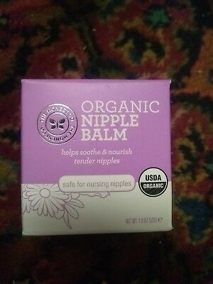 The Honest Company Organic Breast Nipple Balm Unscented 1.8 oz New Sealed