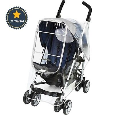 Weather Shield Stroller Rain Cover Standard Stroller Universal Size