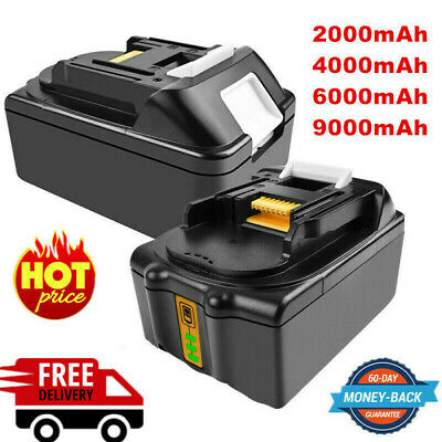 9000mAh Replacement Battery For Makita BL1815 BL1830 LXT Li-Ion 18V Compact EG