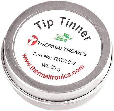 Thermaltronics TMT-TC-2 Lead Free Tip Tinner (20g) in 0.8oz Container by ...